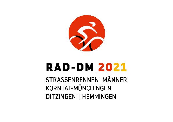 RAD-DM Stuttgart & Region 2021 - Logo Strassenrennen Männer Korntal-Münchingen, Ditzingen, Hemmingen